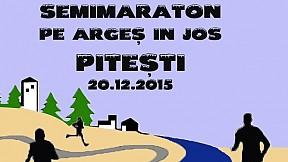 """Semimaraton """"Pe Arges in Jos"""" ~ 2015"""